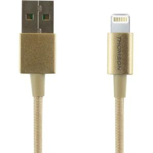 THOMSON Câble USB / Lightning - Doré