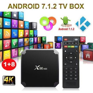BOX MULTIMEDIA X96 MINI Android 7.1.2 Nougat 1+8G KODI Smart TV B