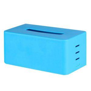 BOITE DE RANGEMENT Boîte de rangement de tissu pour Bleu ciel STO320