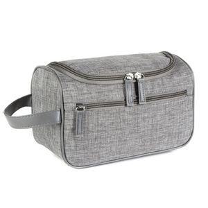SAC DE VOYAGE Sac cosmétique Joli sac cosmétique gris clair-035