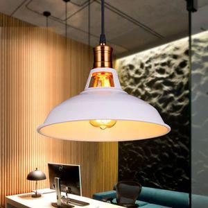 LUSTRE ET SUSPENSION UNI Moderne Suspension Luminaire Métal E27 27cm Lu