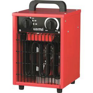 RADIATEUR ÉLECTRIQUE Radiateur de chantier portable Cube Varma - 3000 W
