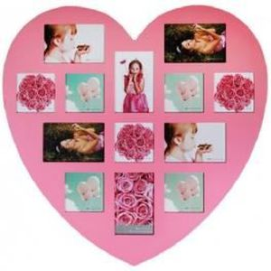 cadre photo forme coeur achat vente cadre photo forme coeur pas cher cdiscount. Black Bedroom Furniture Sets. Home Design Ideas