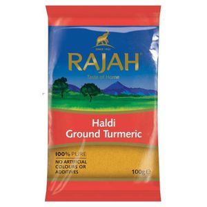 EPICE - HERBE Rajah - Curcuma en poudre-poudre de Haldi - 100 g