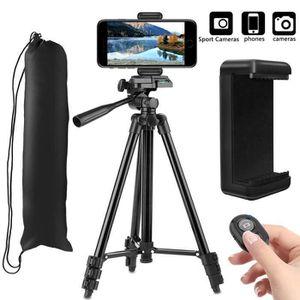 TRÉPIED Trépied Smartphone(53 -135cm),Trépied pour Caméra