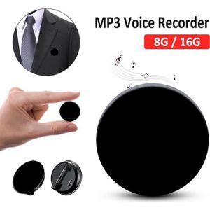 ENREGISTREUR Mini Micro Enregistreur Vocal Espion - 8Go Enregis