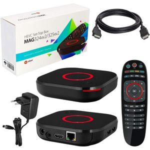 RÉCEPTEUR - DÉCODEUR   MAG 324w2 Kit de décodeur, Wi-Fi intégré, HEVC H.2