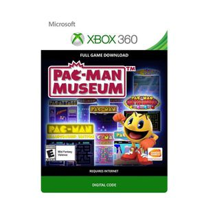 JEU XBOX 360 À TÉLÉCHARGER PAC-MAN Museum Jeu Xbox 360 à télécharger