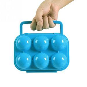 BOCAUX Boite boîte de transport à oeuf aléatoire pour 6 o