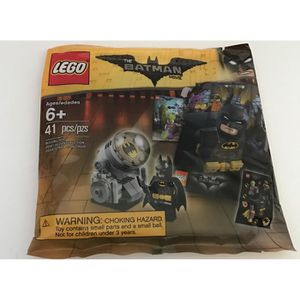 ASSEMBLAGE CONSTRUCTION LEGO 5004930 Batman Movie Bat Signal Set 41 Pcs Po
