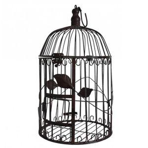 VOLIÈRE - CAGE OISEAU Petite Cage à Oiseaux à Poser ou Volière Enclos à