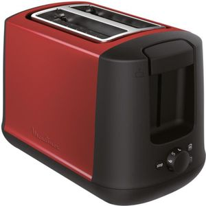 GRILLE-PAIN - TOASTER Grille-pain Moulinex LT340D11 Subito Select Rouge