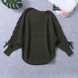 T-SHIRT Femmes manches longues T-shirts décontractés Pulls