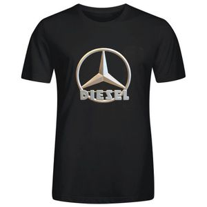 T-SHIRT T-shirt Homme mercedes benz diesel emblem Manches