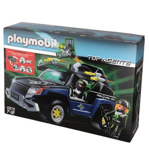UNIVERS MINIATURE PLAYMOBIL 4878 4X4 Du Robo-Gang
