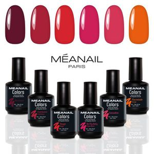 VERNIS A ONGLES Coffret 6 vernis à ongles • Gel Semi Permanents 5m