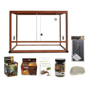 terrarium pour tortue achat vente terrarium pour tortue pas cher cdiscount. Black Bedroom Furniture Sets. Home Design Ideas