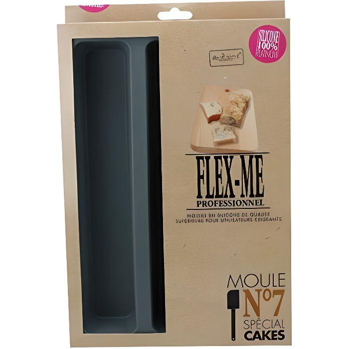 Ard'time FP-CAKES Flex Pro Moule pour 3 Cakes Gris Silicone Platinum FP-CAKES