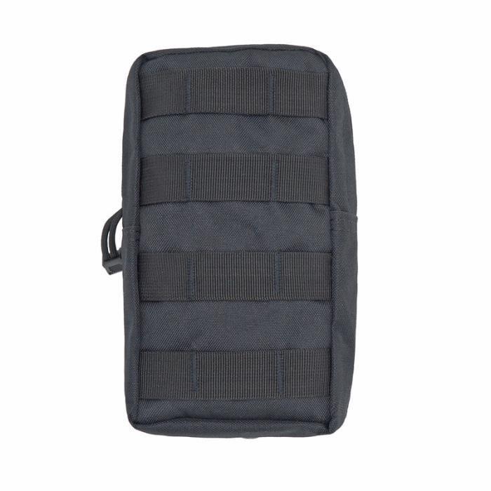 A Black -Sac tactique Molle, pochette utilitaire EDC pour extérieur randonnée voyage chasse, gilet tactique, ceinture de taille, sac