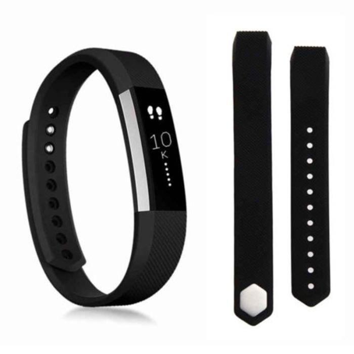 Fitbit Alta - HR Bracelet de remplacement bande de poignet black L