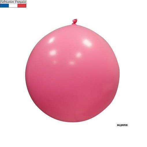 Ballon géant opaque rose, 1m (x1) REF/3192C