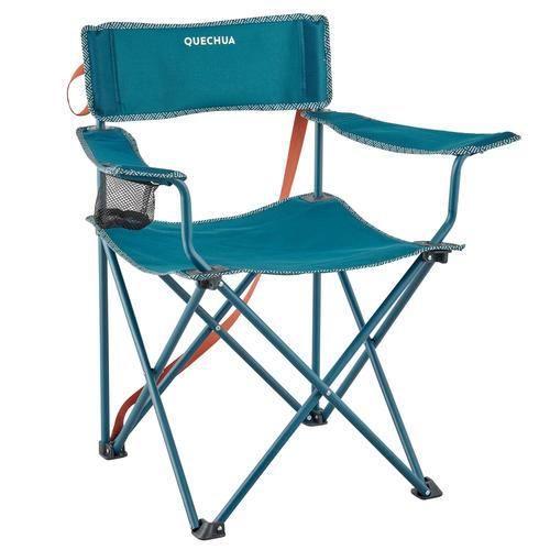 Decathlon FAUTEUIL PLIABLE POUR LE CAMPING BASIC Turquoise 2918997