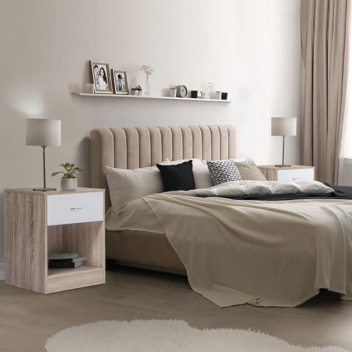 Table de chevet en bois
