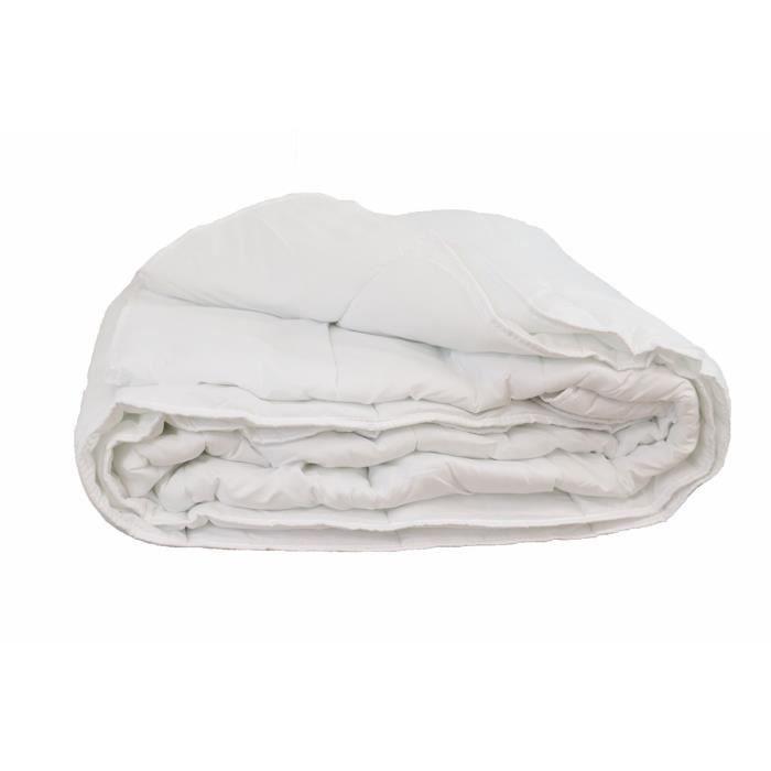 LINANDELLE - Couette synthétique légère OLYMPE ETE - Blanc - 240x260 cm