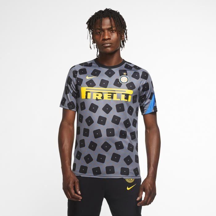 Maillot Inter Milan Dry 2020/21 - gris foncé/noir/bleu étincellant/jaune - M