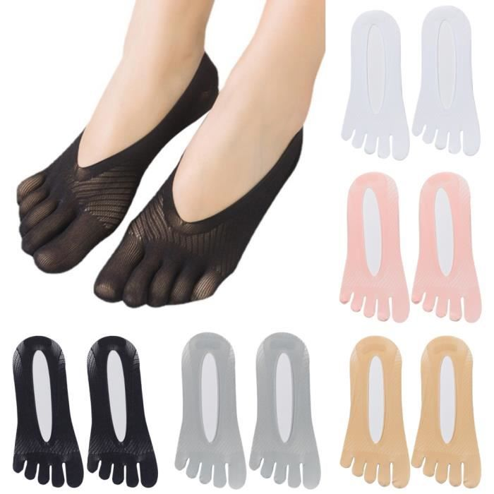 Chaussettes de compression orthopédiques pour femmes doublure en gel ultra-basse respirante