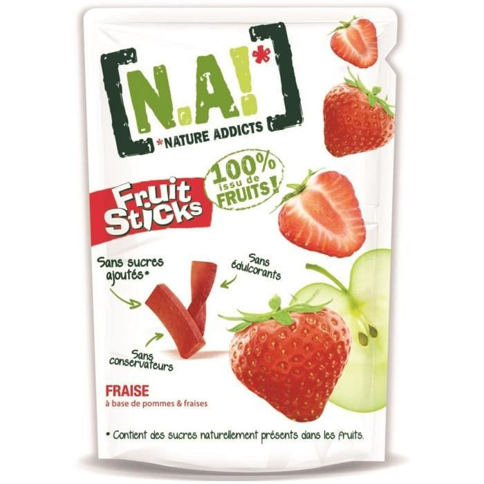 N.A Fruit Sticks Doypack de Fraise - 40 g
