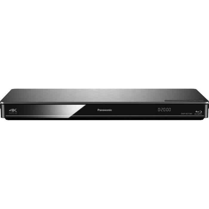 lecteur Blu-ray 3D Panasonic DMP-BDT385 Wi-Fi argent