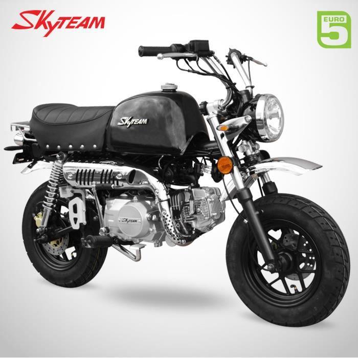 Mini Moto - GORILLA 125 - Noir - SKYTEAM