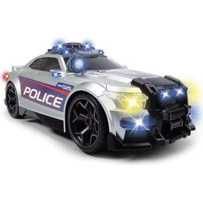 DICKIE - Voiture de police 33cm gris