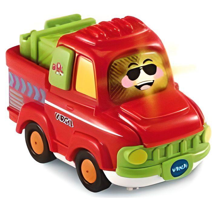 Tut Tut Bolides Virgil pick-up agile - Vehicule parlant, lumineux, musical - Jouet premier age - Vtech Bebe 1-5 ans