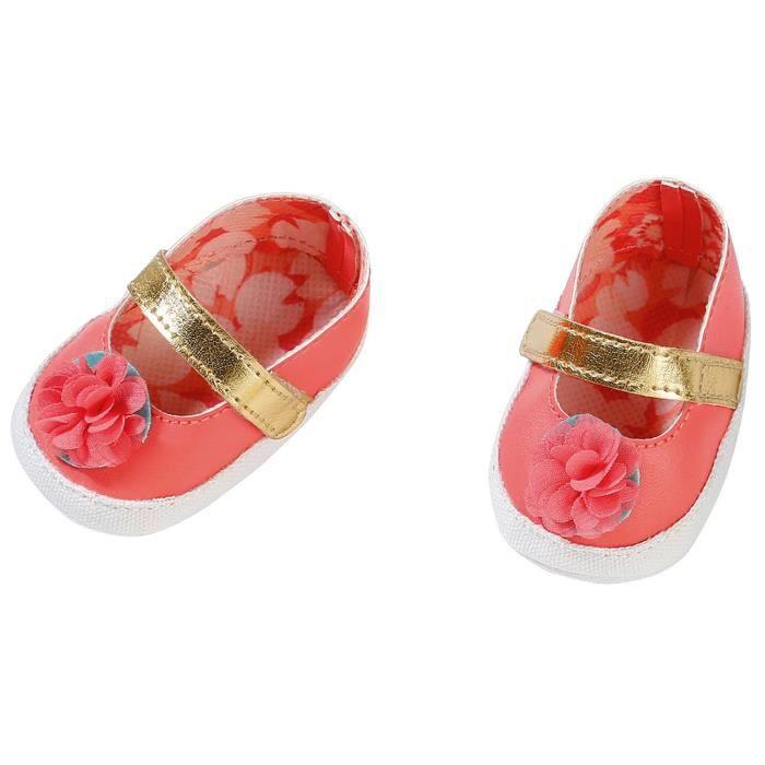 Accessoire pour poupée Zapf Creation 703106-B Baby Annabell Chaussures Rose 43 cm