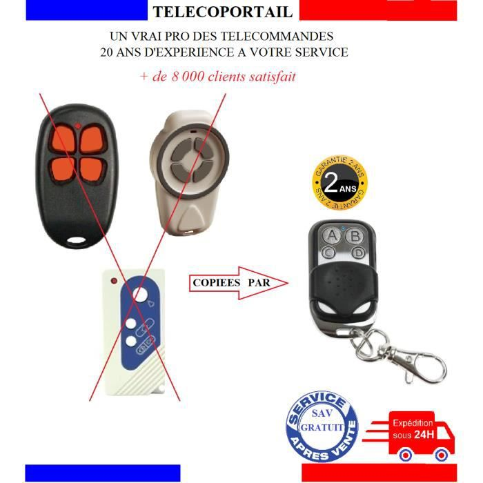 TELECOMMANDE SUPER COPIEUSE COMPATIBLE OTIO 27HB07