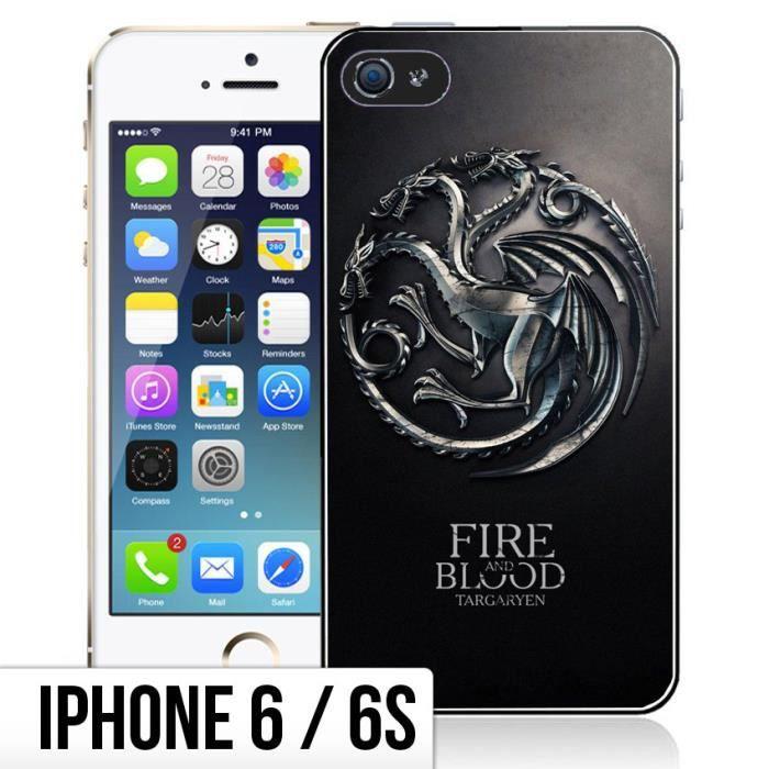 Coque iPhone 6-6S Game Of Thrones - Targaryen