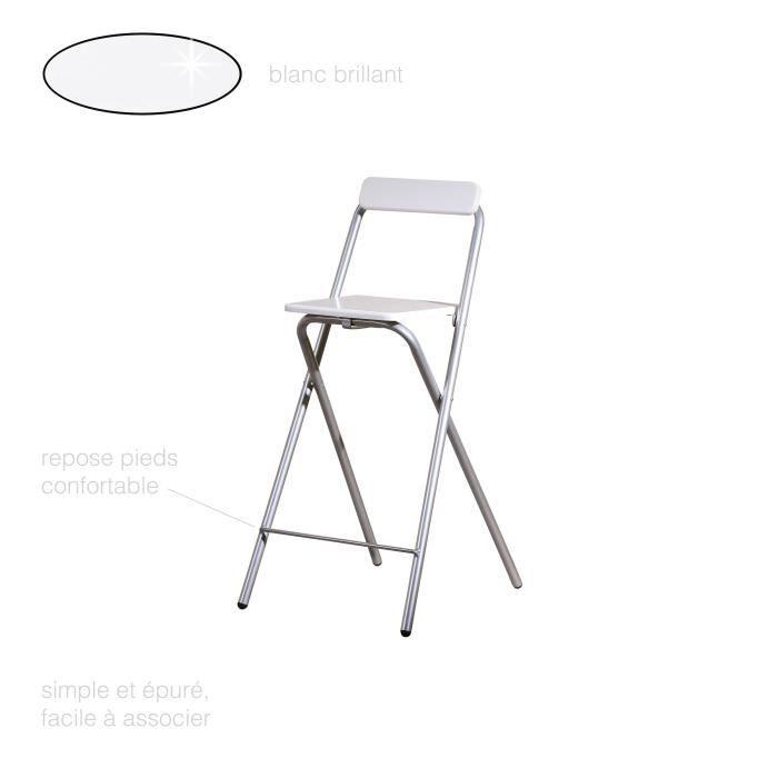 Chaise Pliante Chaise Haute Pliante Tabouret De Bar