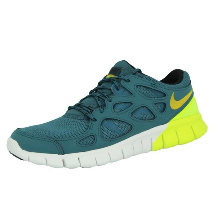 magasin en ligne b5cb4 08314 Nike FREE RUN 2 Chaussures de course Running Homme Blanc ...