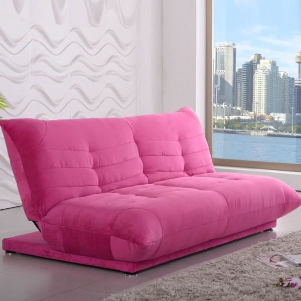 clic clac shamu design rose tissu velours achat vente clic clac polyester cdiscount. Black Bedroom Furniture Sets. Home Design Ideas