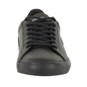 317 Leather Lerond Lacoste Homme 4 CAM Noir Trainers qXEEwB