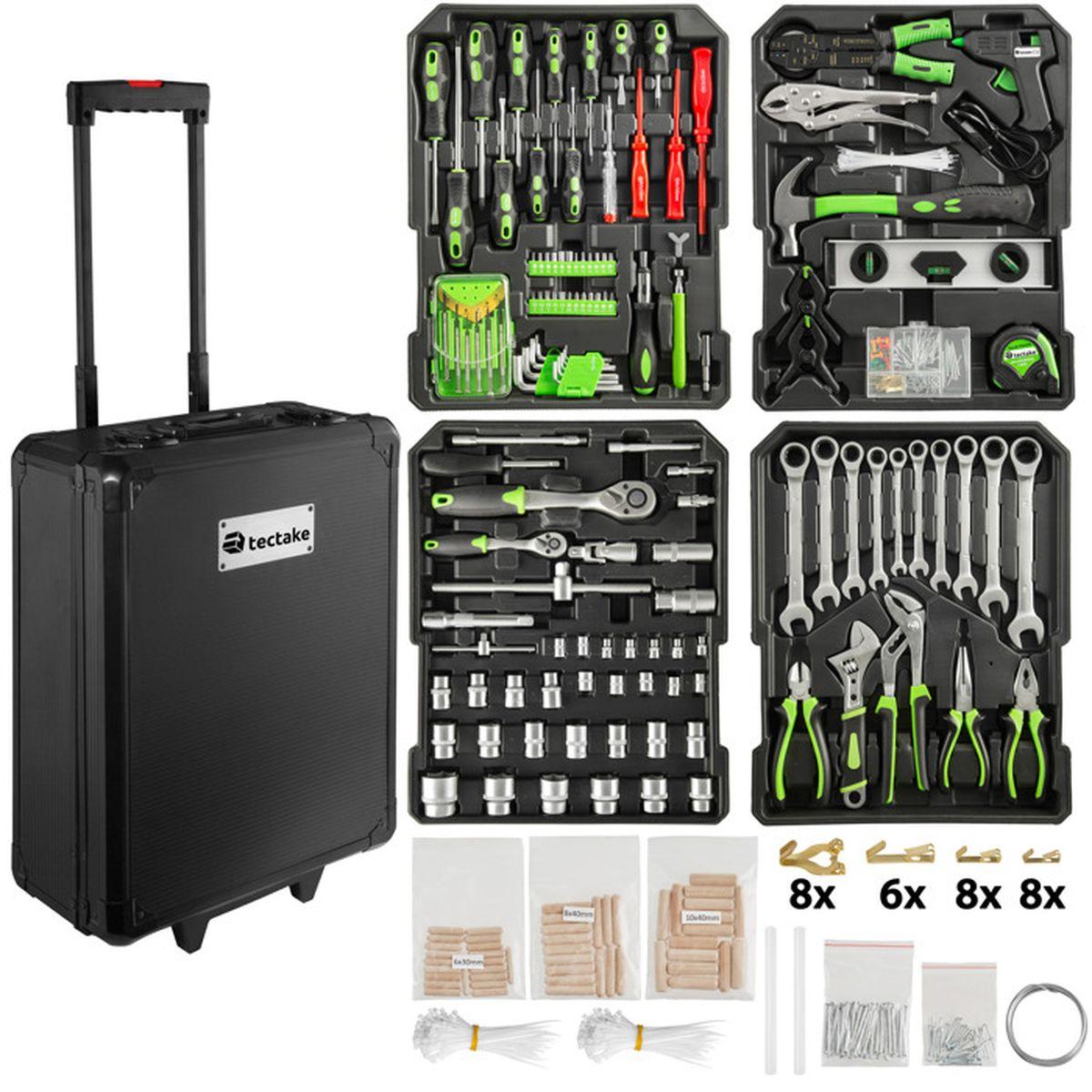 Outil valise trousse à outils boîte à outils vélo atelier universel 134 pièces