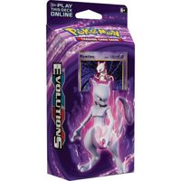 CARTE A COLLECTIONNER Pokemon XY12 Evolutions Theme Deck Mewtwo