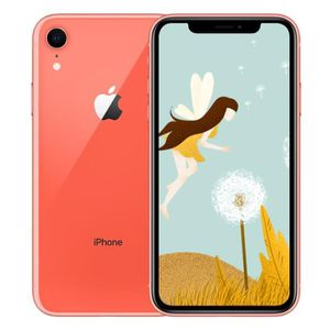 SMARTPHONE APPLE iPhone Xr 128 Go Corail Neuf - 6,1 pouces -