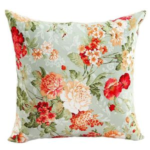 OREILLER Beautiful Flowers Canapé-lit Home Decor Coussin Or