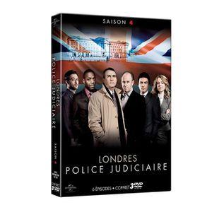 DVD SÉRIE Londres, Police Judiciaire - Saison 4