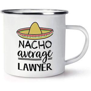 Nacho moyenne psychologue Voyage Tasse avec poignée Worlds Best drôle Génial