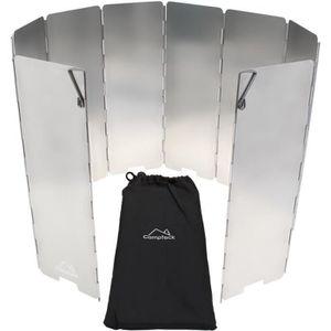 MagiDeal 8 Panneau Pliable Support De Po/êle /à Gaz Protection /à Vent Barbecue Camping