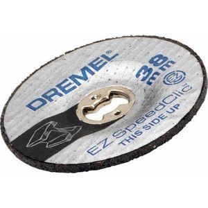 ACCESSOIRE MACHINE DREMEL 2 disques à meuler/réctifier EZ Speedclic S